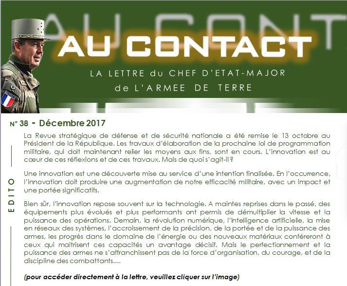 Lettre dinformation Au contact n° 38 du CEMAT