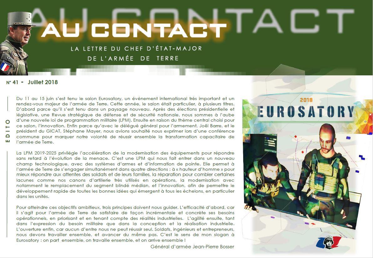 Lettre du CEMAT Au contact n° 41